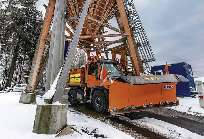 Rhein-Neckar-Kreis:  Kein Rechtsanspruch auf schneefreie Straßen