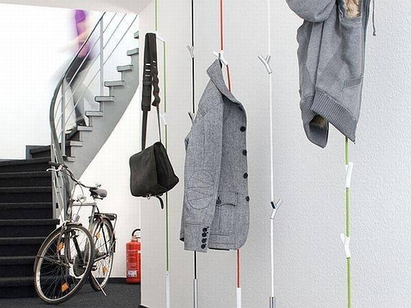 f r ein sch nes entr e minimalistische garderoben liegen im trend lebensart rhein neckar. Black Bedroom Furniture Sets. Home Design Ideas