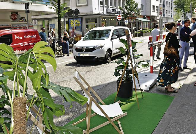 Mannheim:  Sperrung der Innenstadt für den Durchgangsverkehr kommt vorerst nicht