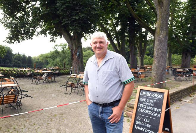 Bierhelderhof:  Warumeiner der schönsten Biergärten Heidelbergs geschlossen ist