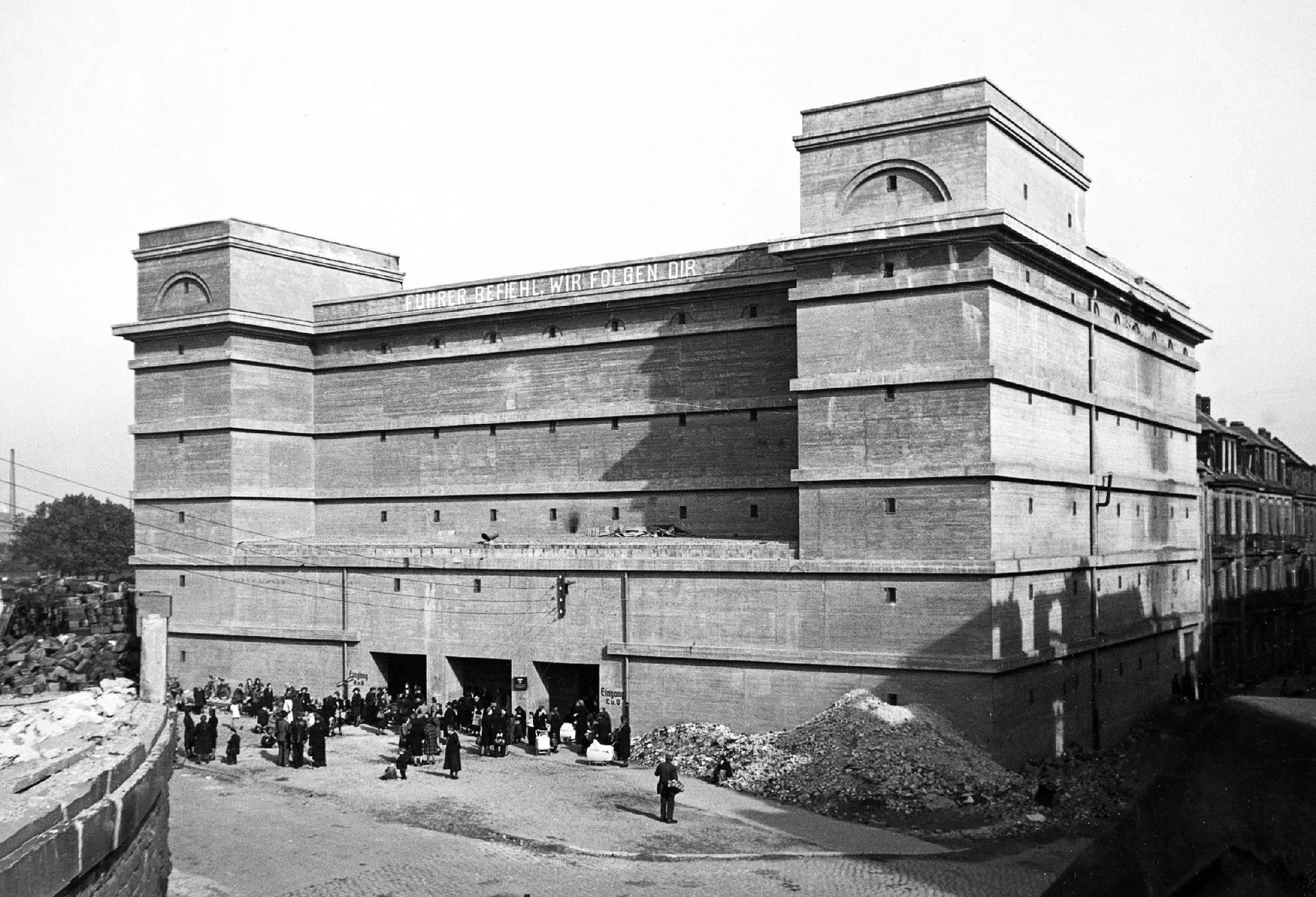 Mannheimer stadtarchiv im bunker auflagen des - Architektur mannheim ...