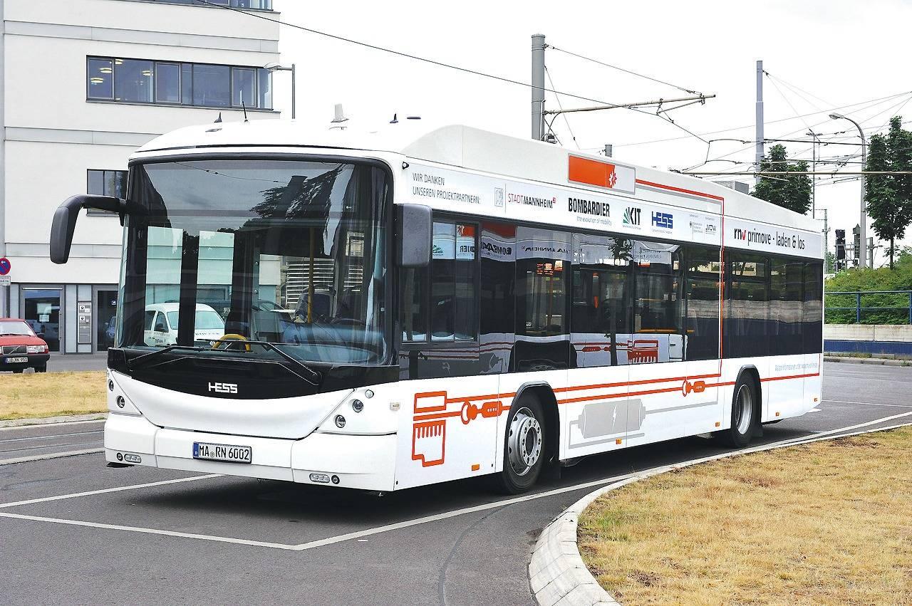 auf der mannheimer linie 63 fahren ab sofort elektrobusse nachrichten aus mannheim rhein. Black Bedroom Furniture Sets. Home Design Ideas
