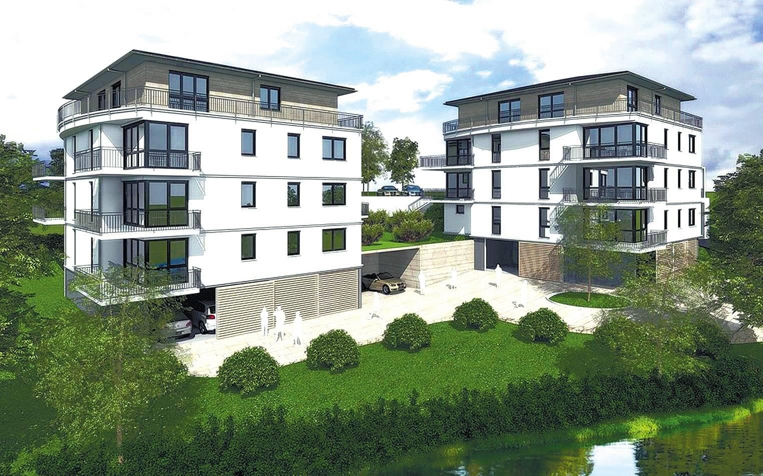 Neckargem nd zur stadt geh rt auch moderne architektur - Moderne architektur ...