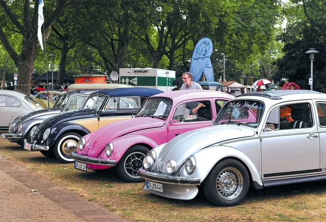 vw treffen in mannheim da schnalzt der oldie fan mit der zunge nachrichten aus mannheim. Black Bedroom Furniture Sets. Home Design Ideas