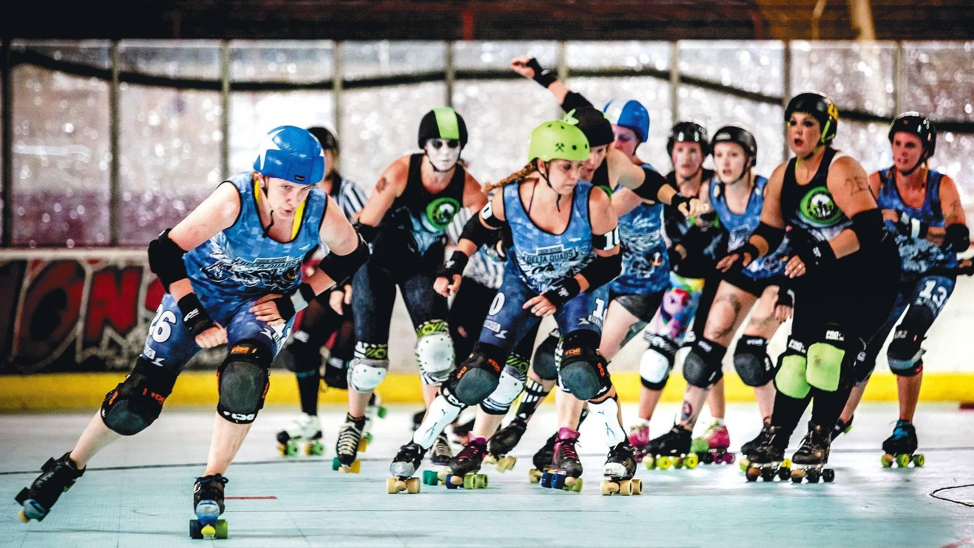 Roller Derby Val Kyria Gegen Den Rest Der Welt Magazin