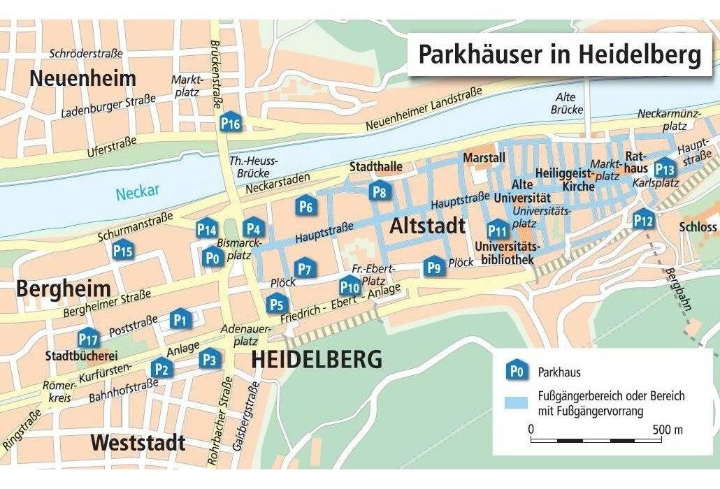 parken in heidelberg wird 2016 teurer nachrichten aus heidelberg rhein neckar zeitung. Black Bedroom Furniture Sets. Home Design Ideas