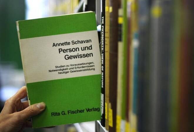 Annette Schavan (CDU) steht wegen Plagiatsvorwürfen unter Druck. Foto ...