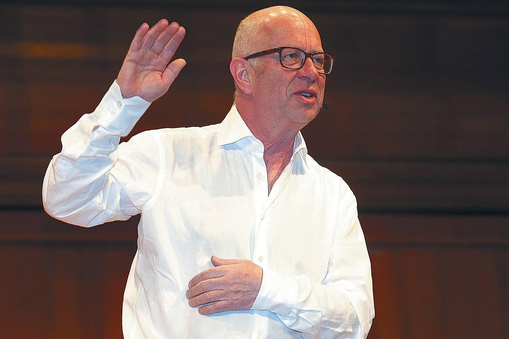Robert Betz in Heidelberg: Mal harmlos, mal gefährlich