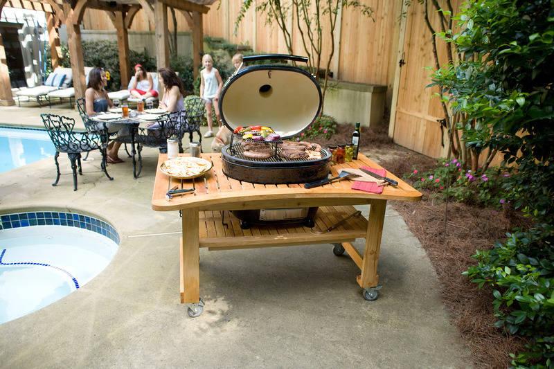 grillen kochen und sp len im garten outdoork che f r den sommer haus garten rhein neckar. Black Bedroom Furniture Sets. Home Design Ideas