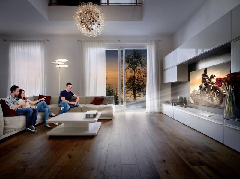 beamer oder fernseher wer macht das bessere heimkino rhein neckar zeitung. Black Bedroom Furniture Sets. Home Design Ideas