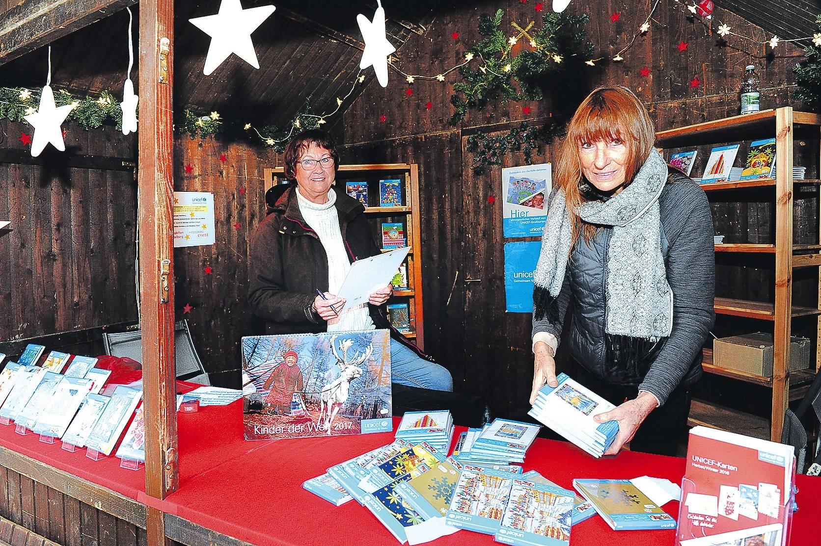 Heidelberg wer will weihnachtskarten f r den guten zweck - Weihnachtskarten unicef ...