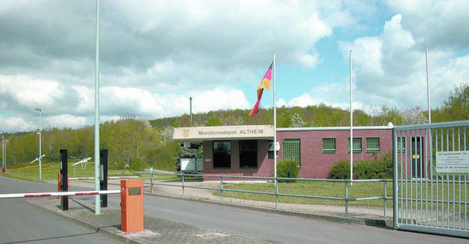 Altheimer munitionsdepot schlie t 2017 endg ltig buchen for Depot weinheim