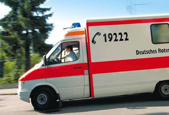 Heidelberg:  Auf eisglatter Straße geriet das Auto ins Schlittern