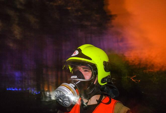 Ketsch:  In der Brühler Straße brannte ein Mehrfamilienhaus