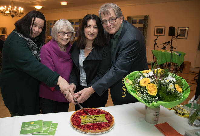 Bergsträßer Kreisverband:  Grüne tratenvor 40 Jahren als bunter Haufen an