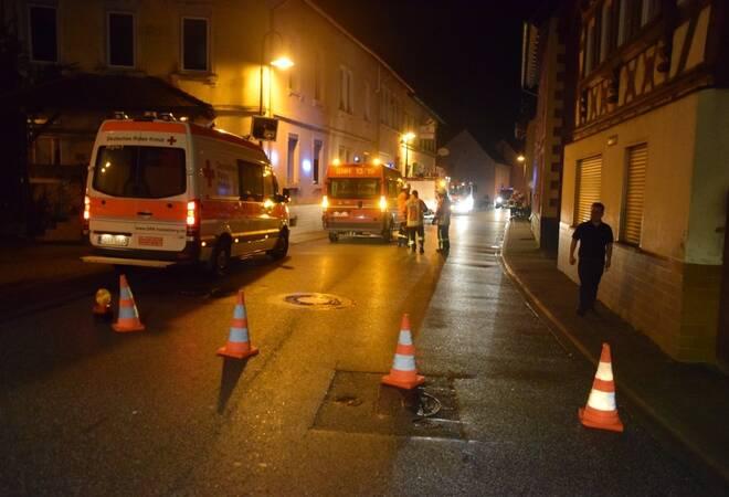 Sinsheim-Weiler:  Kellerbrand in Wohnhaus (Update)