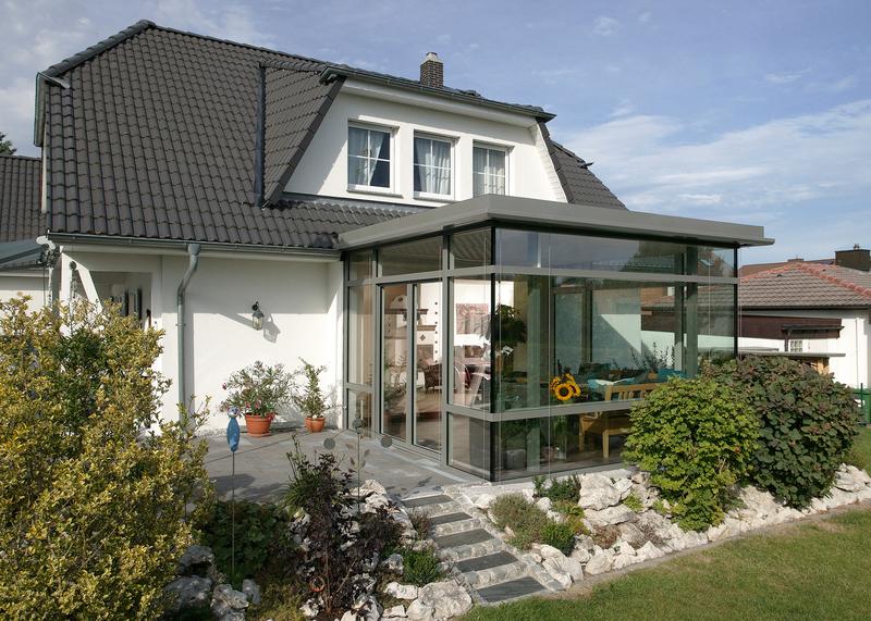 Anbau Mit Ausblick Wintergarten Als Zweites Wohnzimmer Haus Garten Rnz