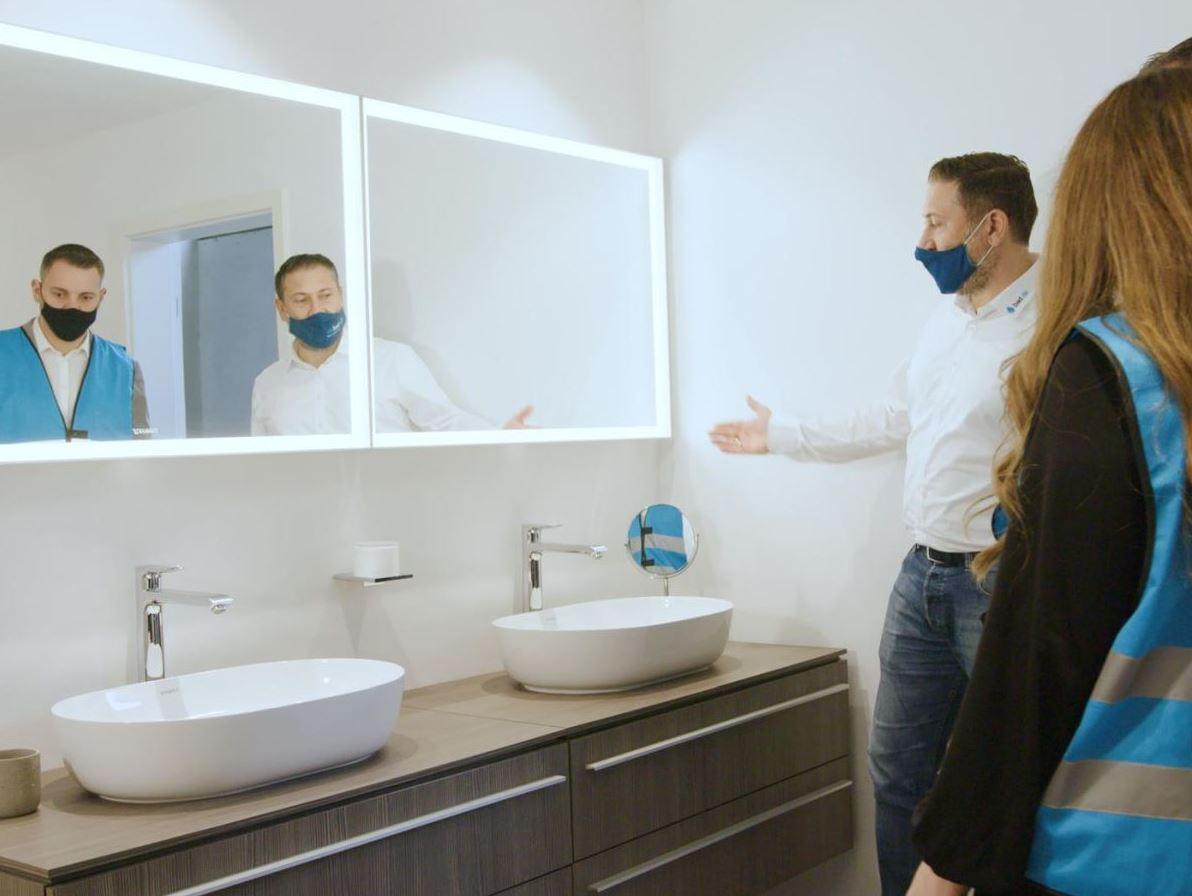 Badezimmer Unkompliziert aus einer Hand Badsanierung mit bad.de ...