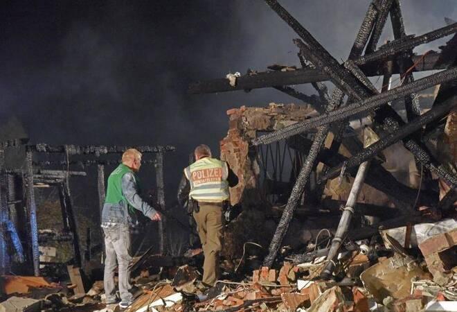 eine tote bei explosion von wohnhaus panorama rhein neckar zeitung. Black Bedroom Furniture Sets. Home Design Ideas