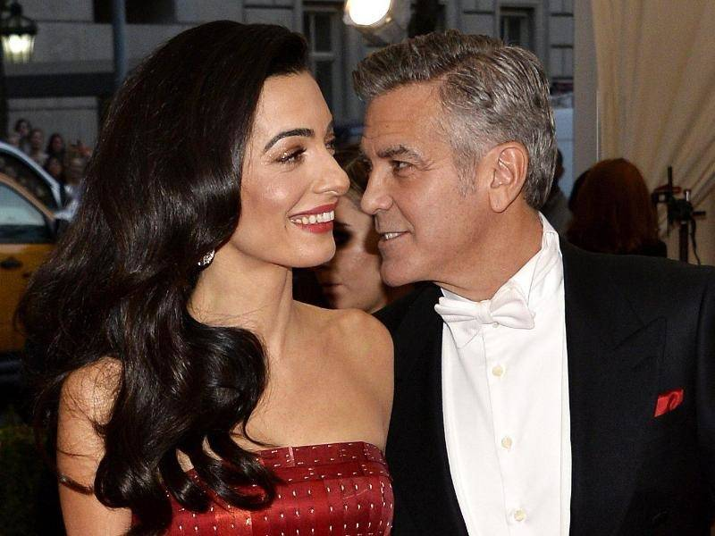 george clooney hat amal mit heiratsantrag berfallen leute rhein neckar zeitung. Black Bedroom Furniture Sets. Home Design Ideas