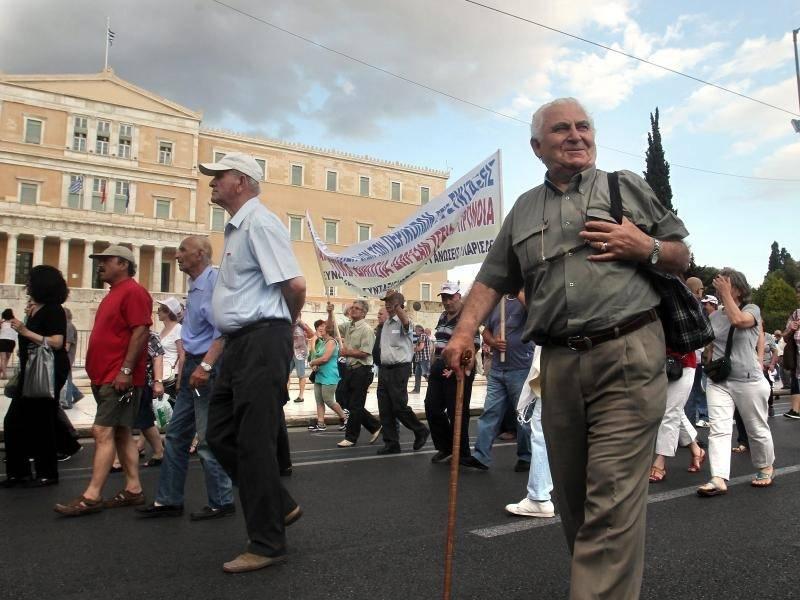 Griechische Rentner