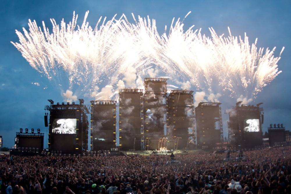 Böhse Onkelz Auf Dem Hockenheimring 100000 Besucher Und 25000