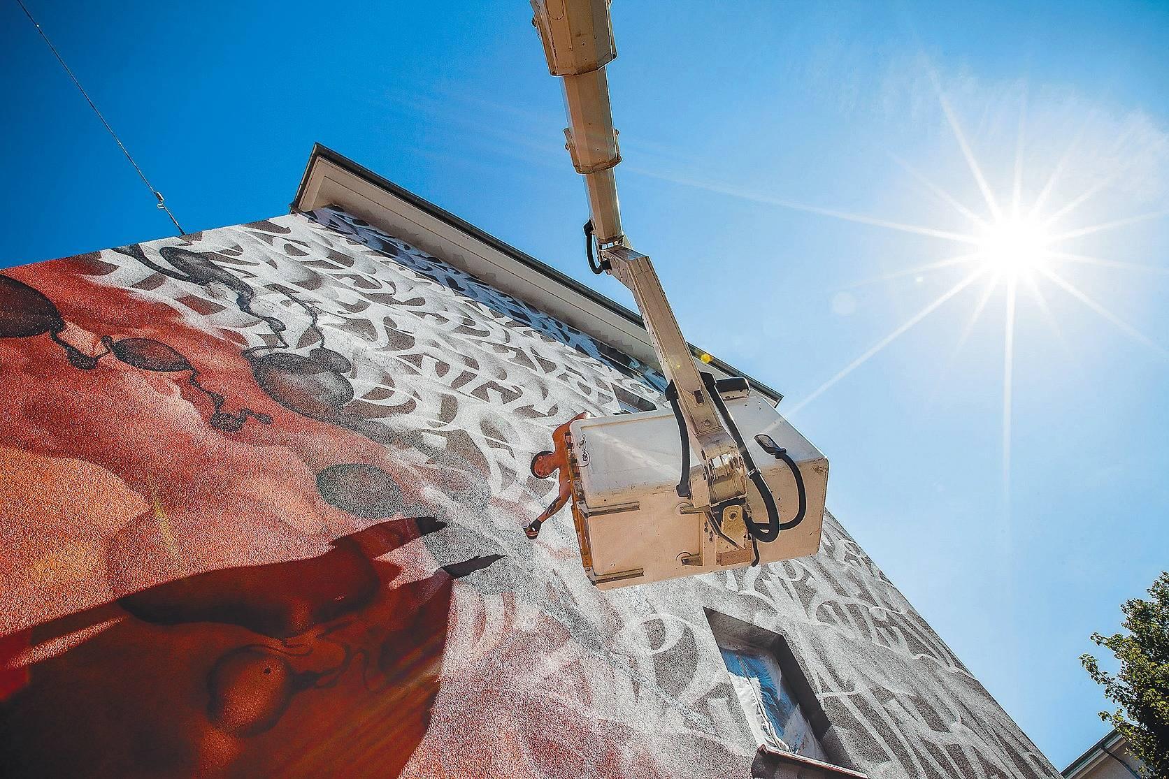 Künstler Mannheim graffiti künstler verwandeln mannheimer häuserwände zur galerie