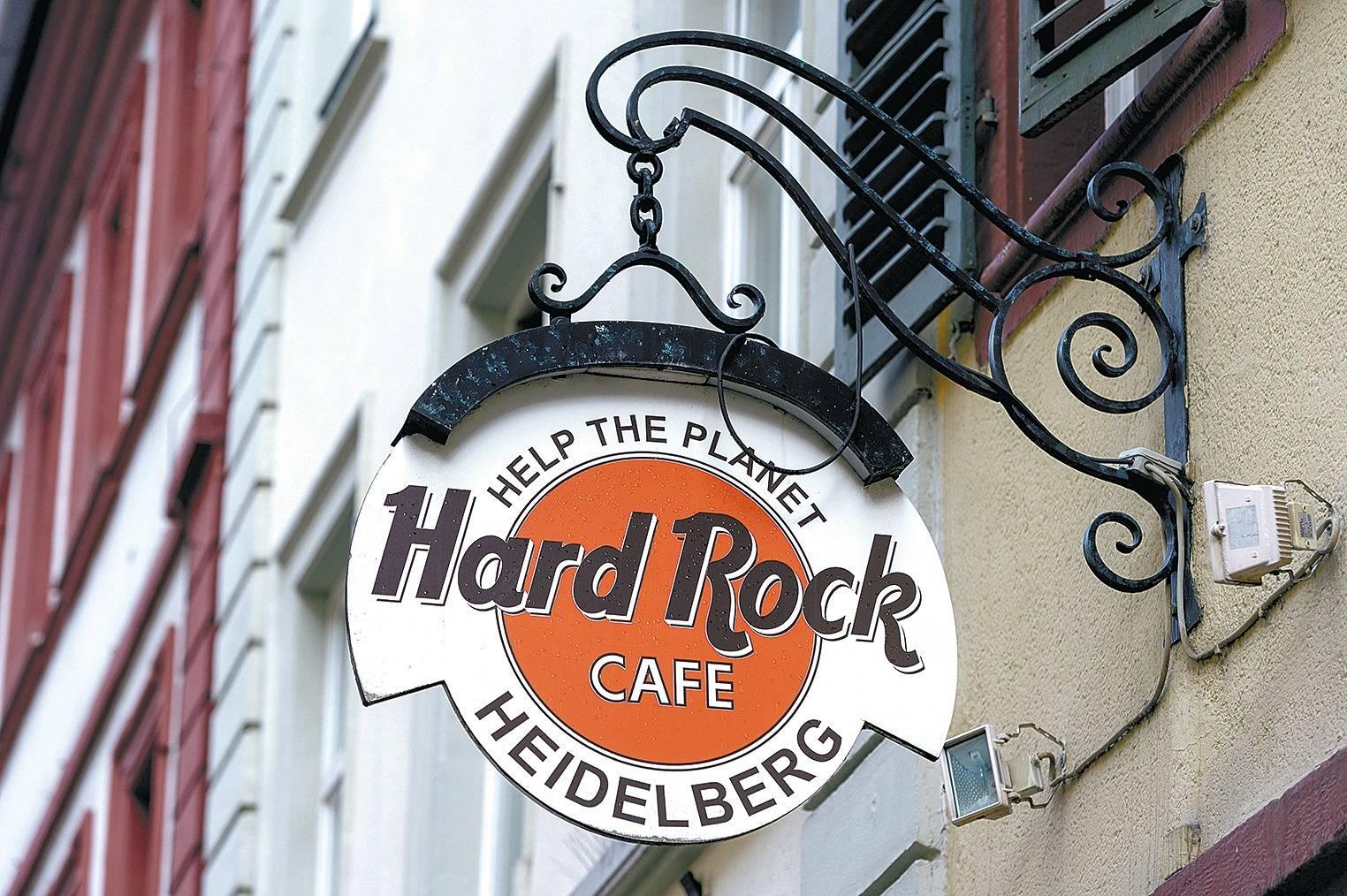 Fabulous Heidelbergs Hard Rock Café muss seine Fanartikel vernichten XI12