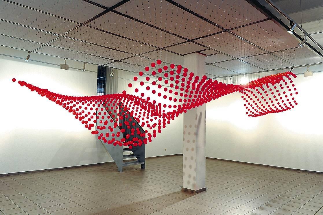 Künstler Heidelberg heidelberger forum für kunst zeigt installation in der schwebe