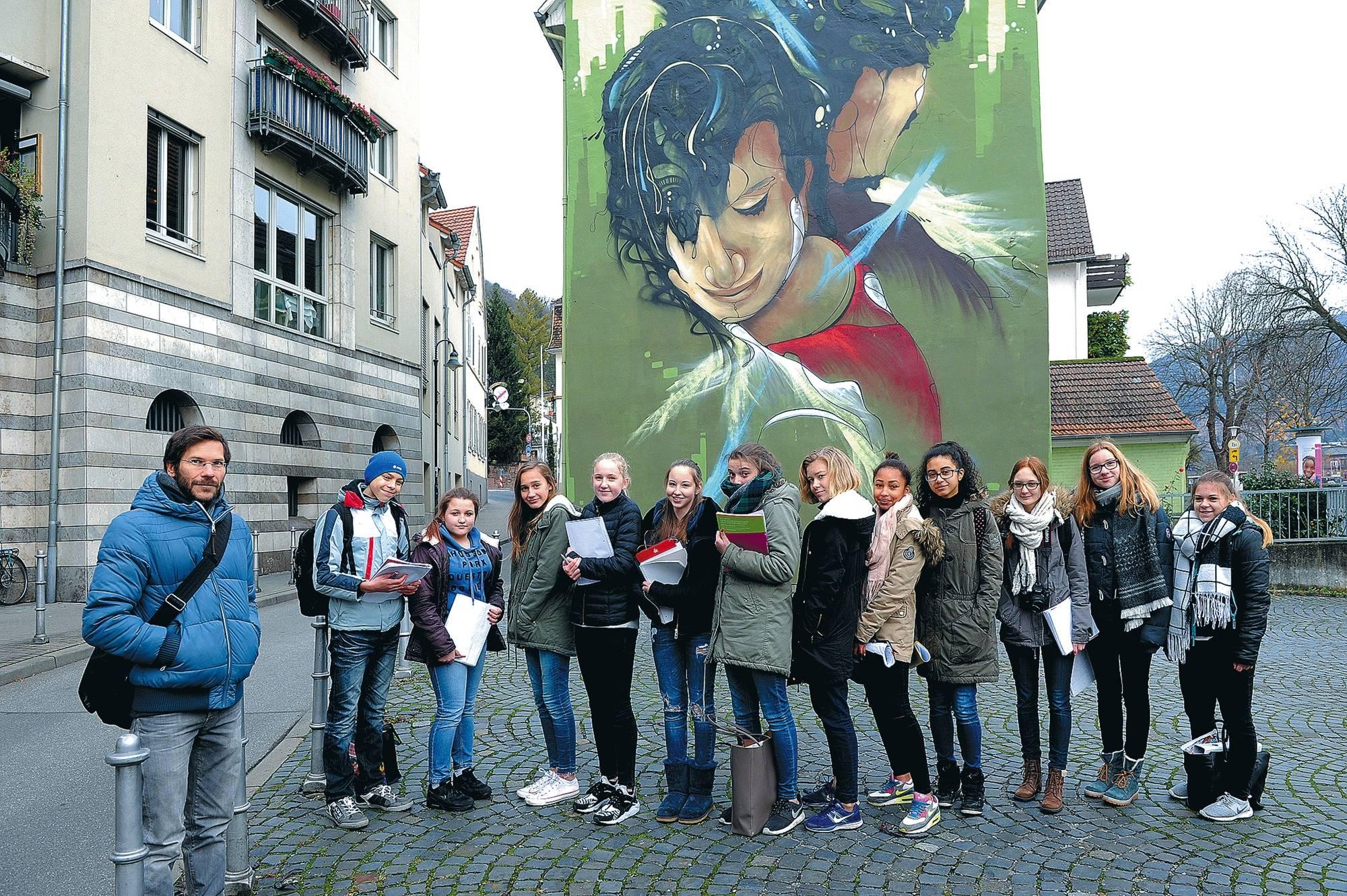 Künstler Heidelberg graffiti künstler daniel thouw polarisiert immer noch nachrichten