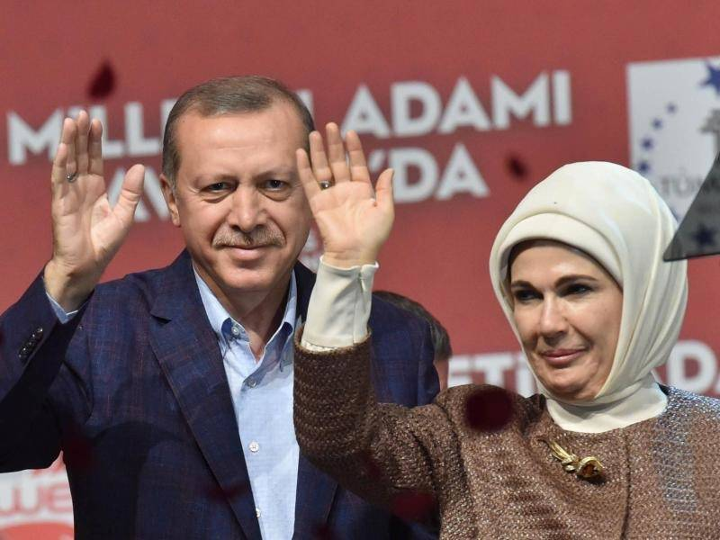 Ehefrau Erdogan