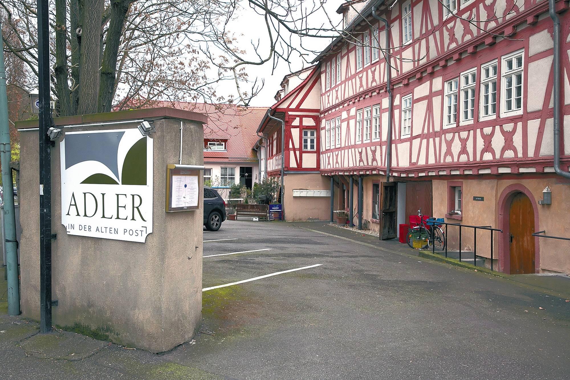 Schön Alte Post Weinheim: Pächter Müssen Aufhören