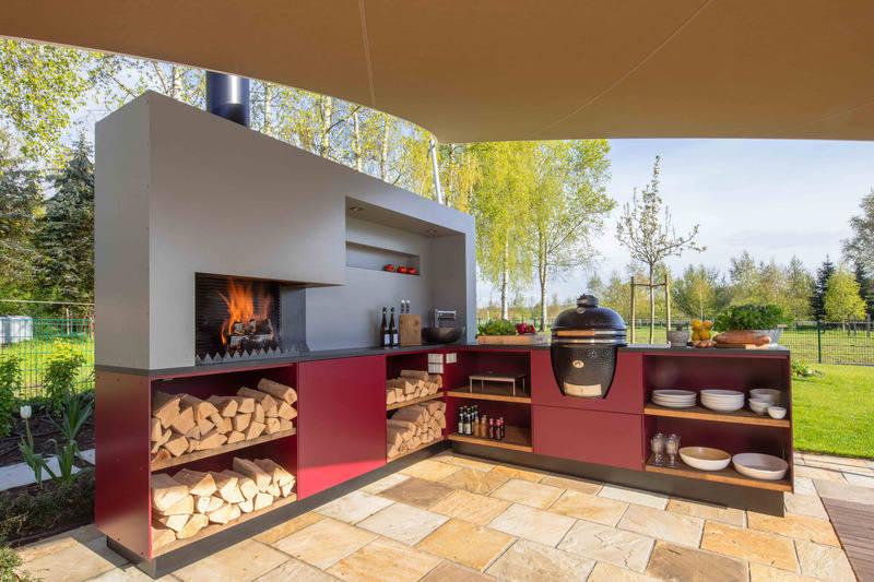 Outdoorküche Mit Spüle Kaufen : Grillen kochen und spülen im garten: outdoorküche für den sommer