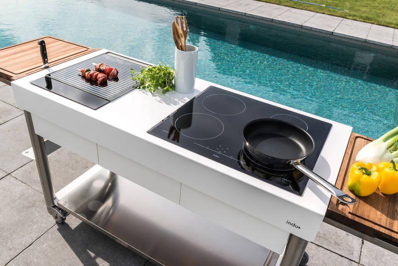 Outdoorküche Gas Xl : Grillen kochen und spülen im garten outdoorküche für den sommer