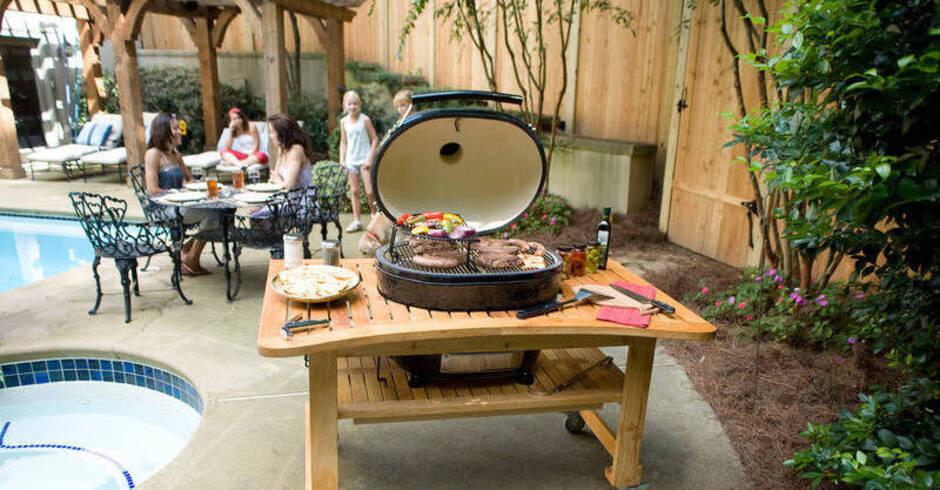 Outdoorküche Mit Spüle Xl : Grillen kochen und spülen im garten outdoorküche für den sommer
