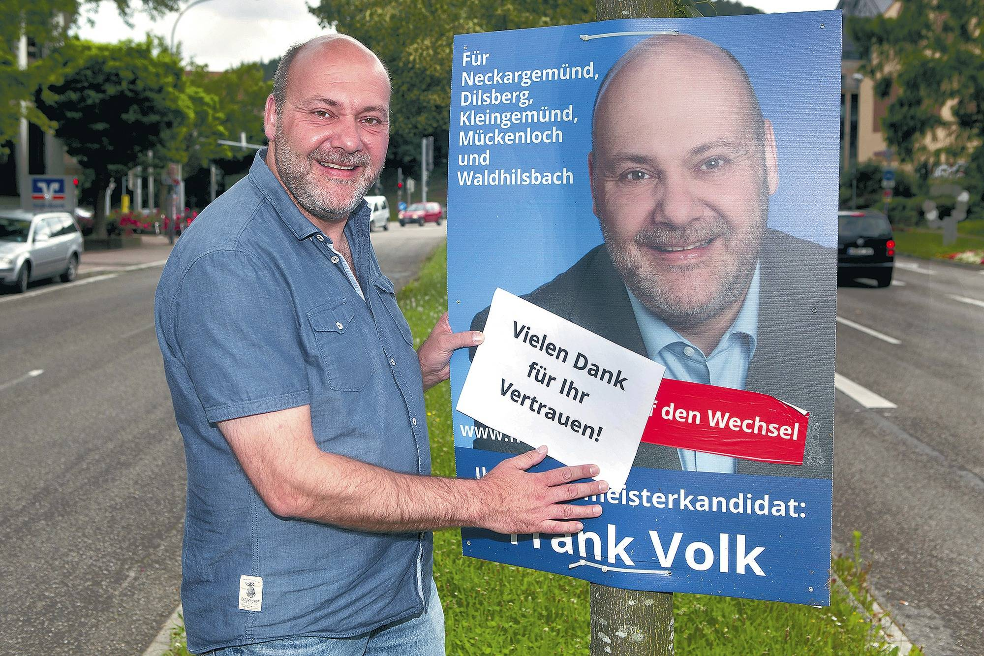 Neckargemünd Nach Einer Kurzen Nacht Räumte Der Neue Bürgermeister