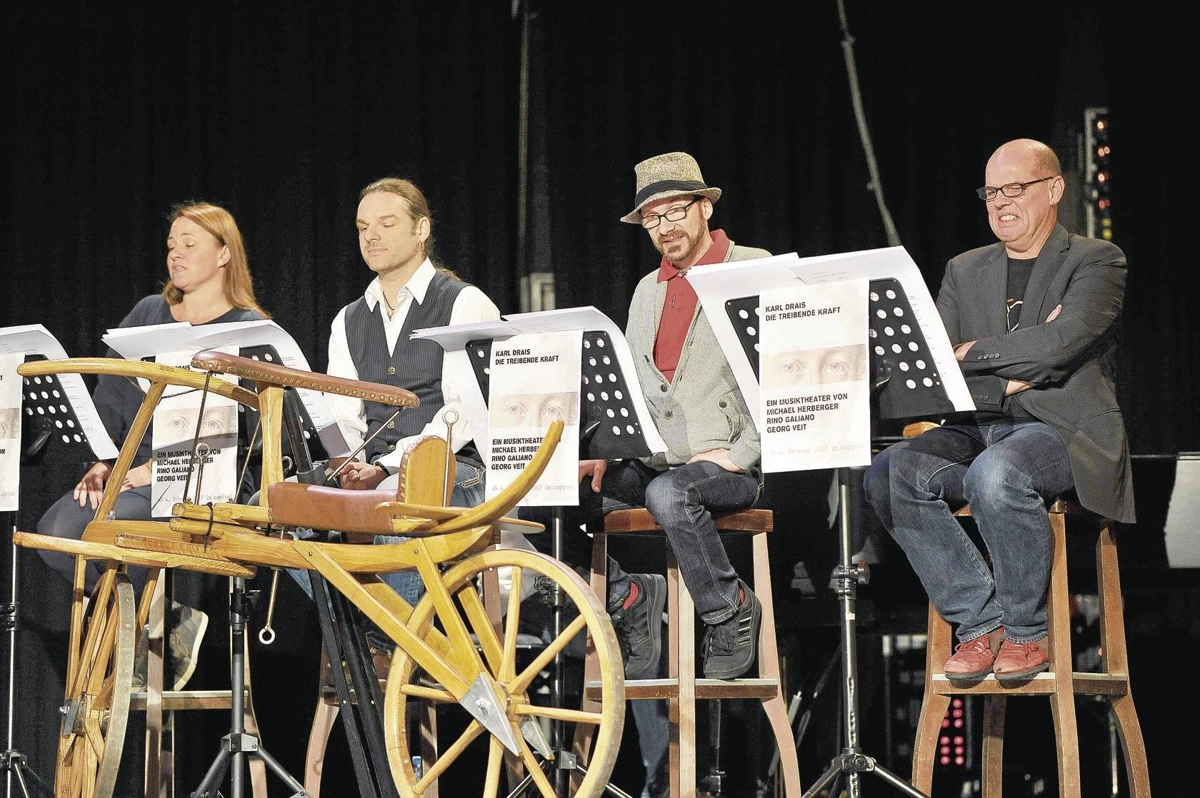 Capitol präsentiert Karl-Drais-Musical zum Fahrradjubiläum 2017 ...