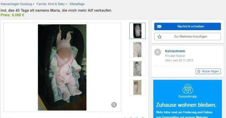 ebay baby zieht mit mama in mutter kind einrichtung panorama rhein neckar zeitung. Black Bedroom Furniture Sets. Home Design Ideas