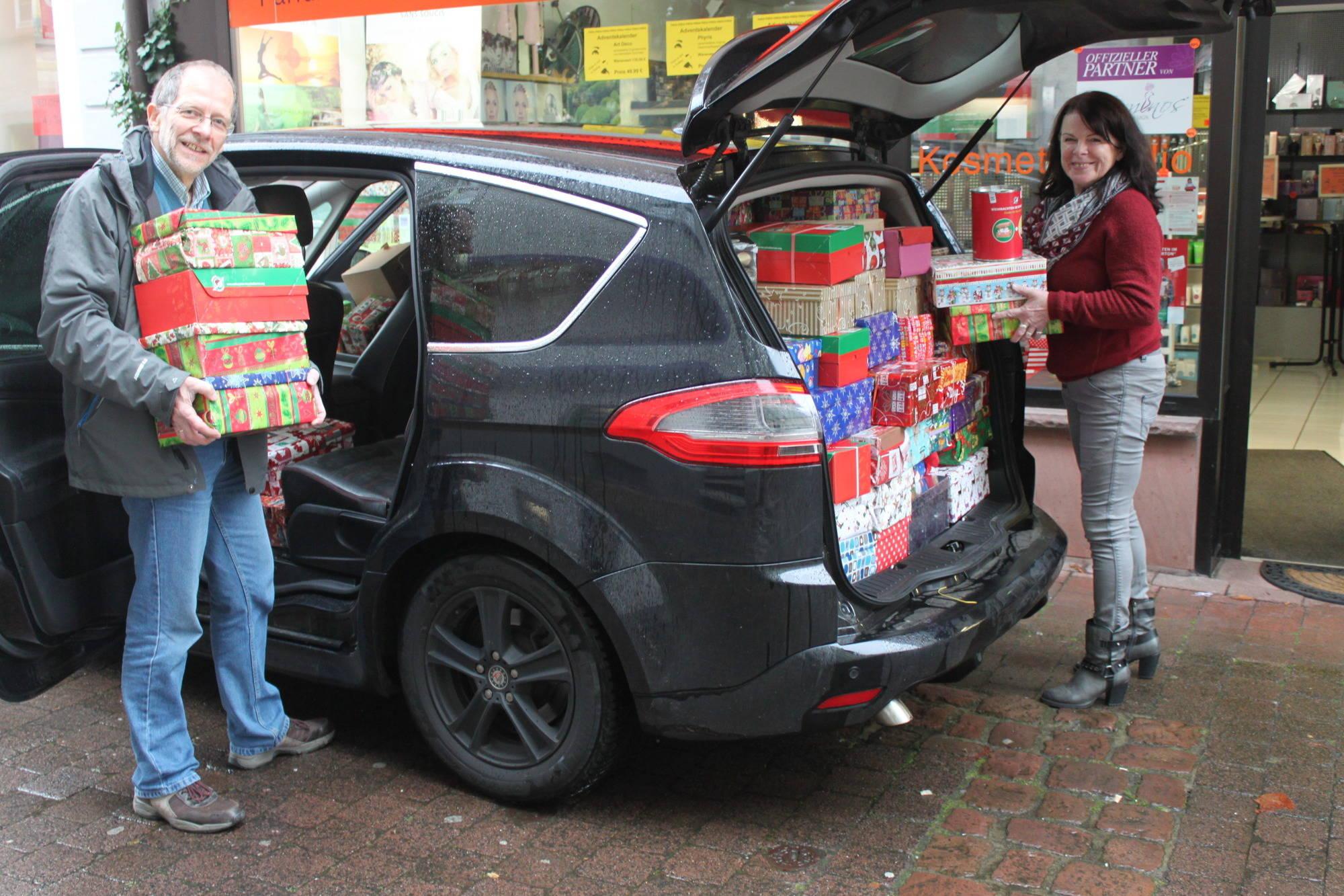 Weihnachten im Schuhkarton\