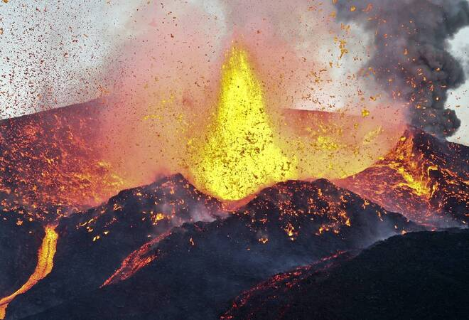Größter Vulkanausbruch Der Erdgeschichte