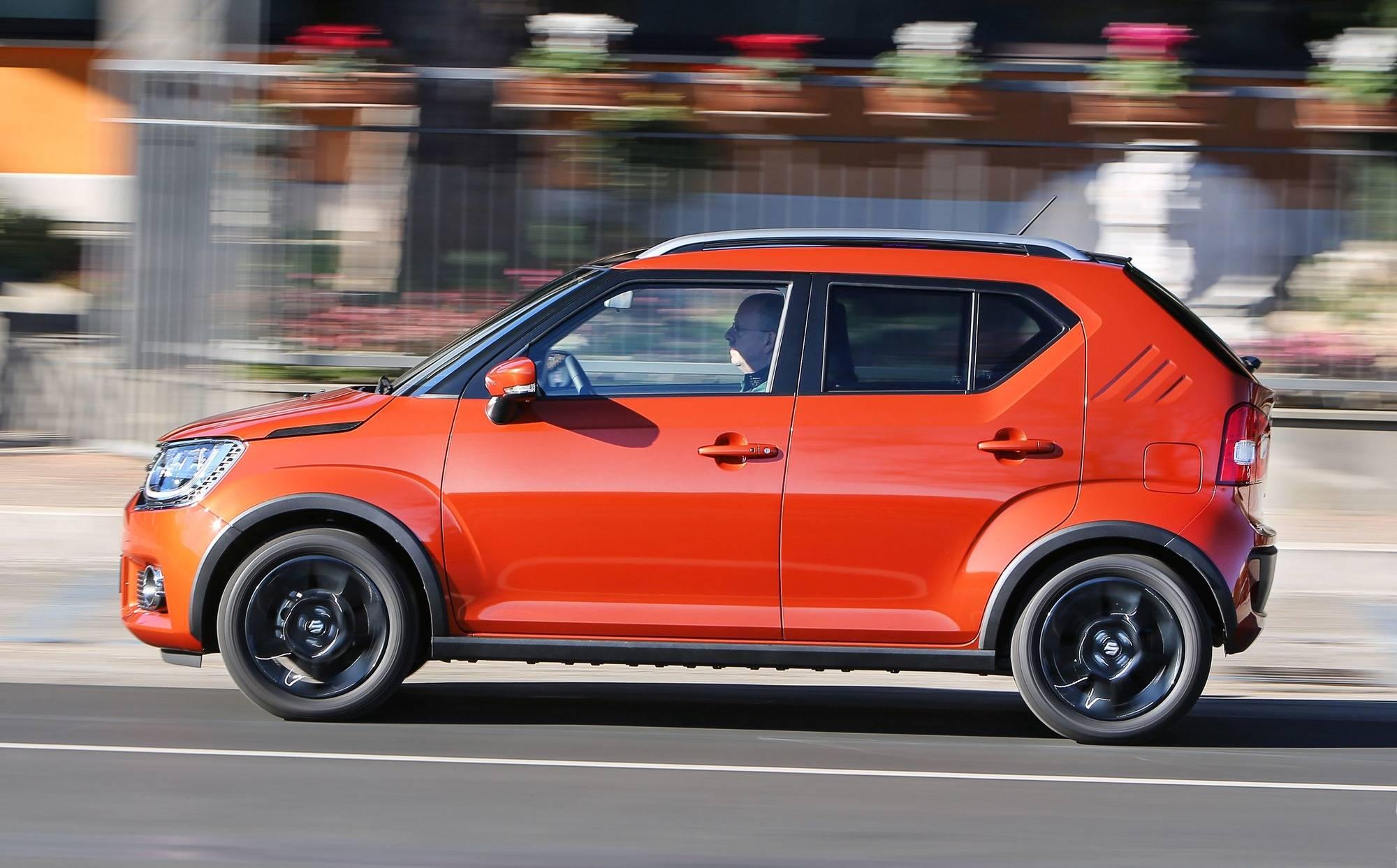 Wahlweise Mit Front Oder Allradantrieb Zu Haben Der Suzuki Ignis Werksfoto