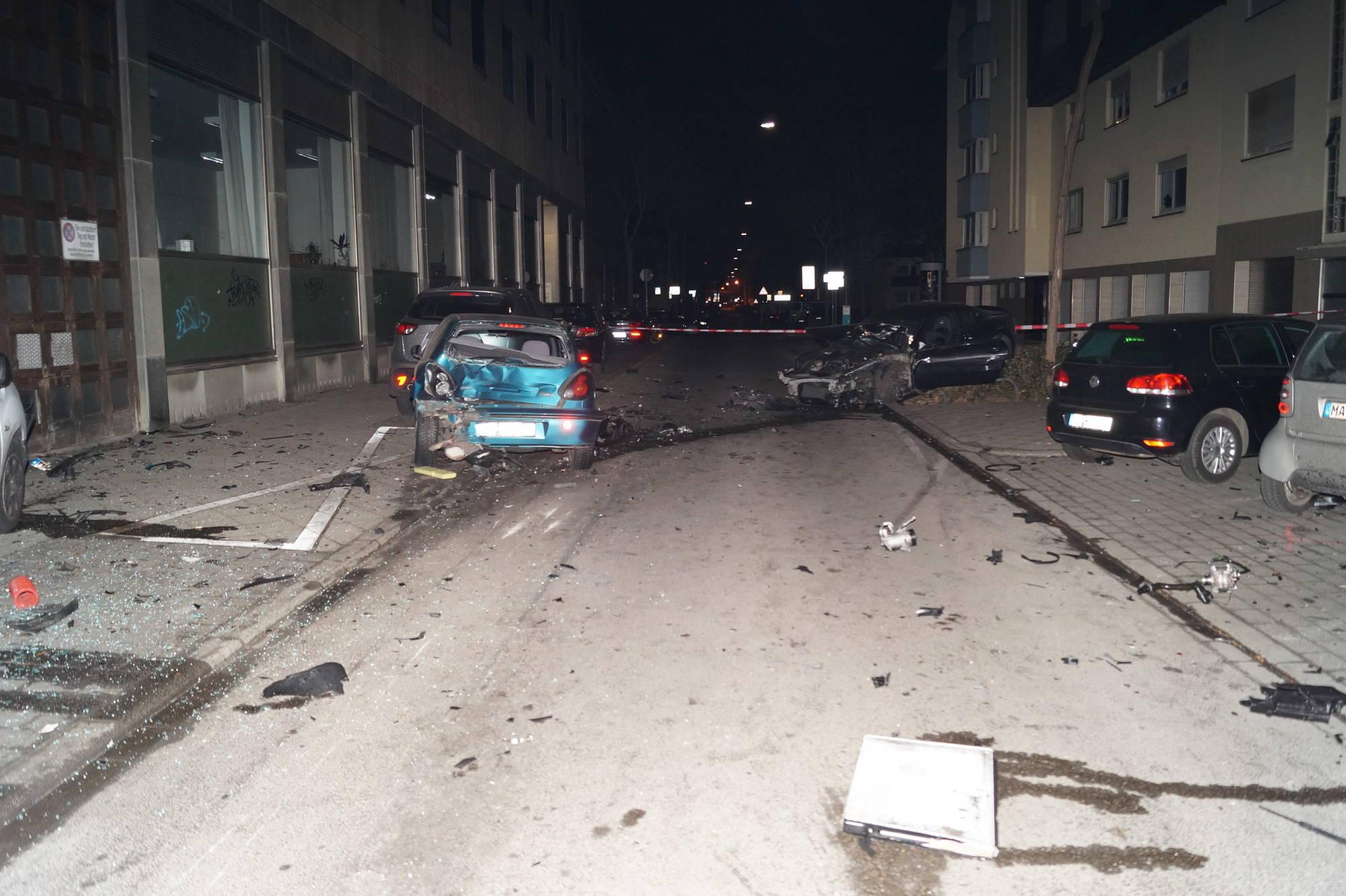 Unfall mit Maserati: \