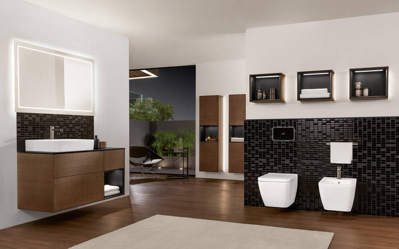 trends der sanit rmesse ish ein bisschen 70er jahre f rs. Black Bedroom Furniture Sets. Home Design Ideas