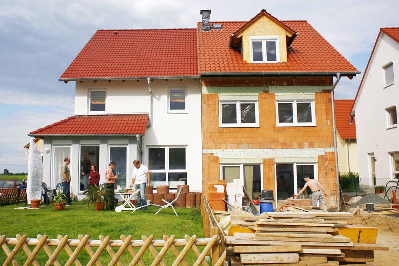 nachbarn mit gemeinsamer wand warum ein doppelhaus bauen finanzen rhein neckar zeitung. Black Bedroom Furniture Sets. Home Design Ideas