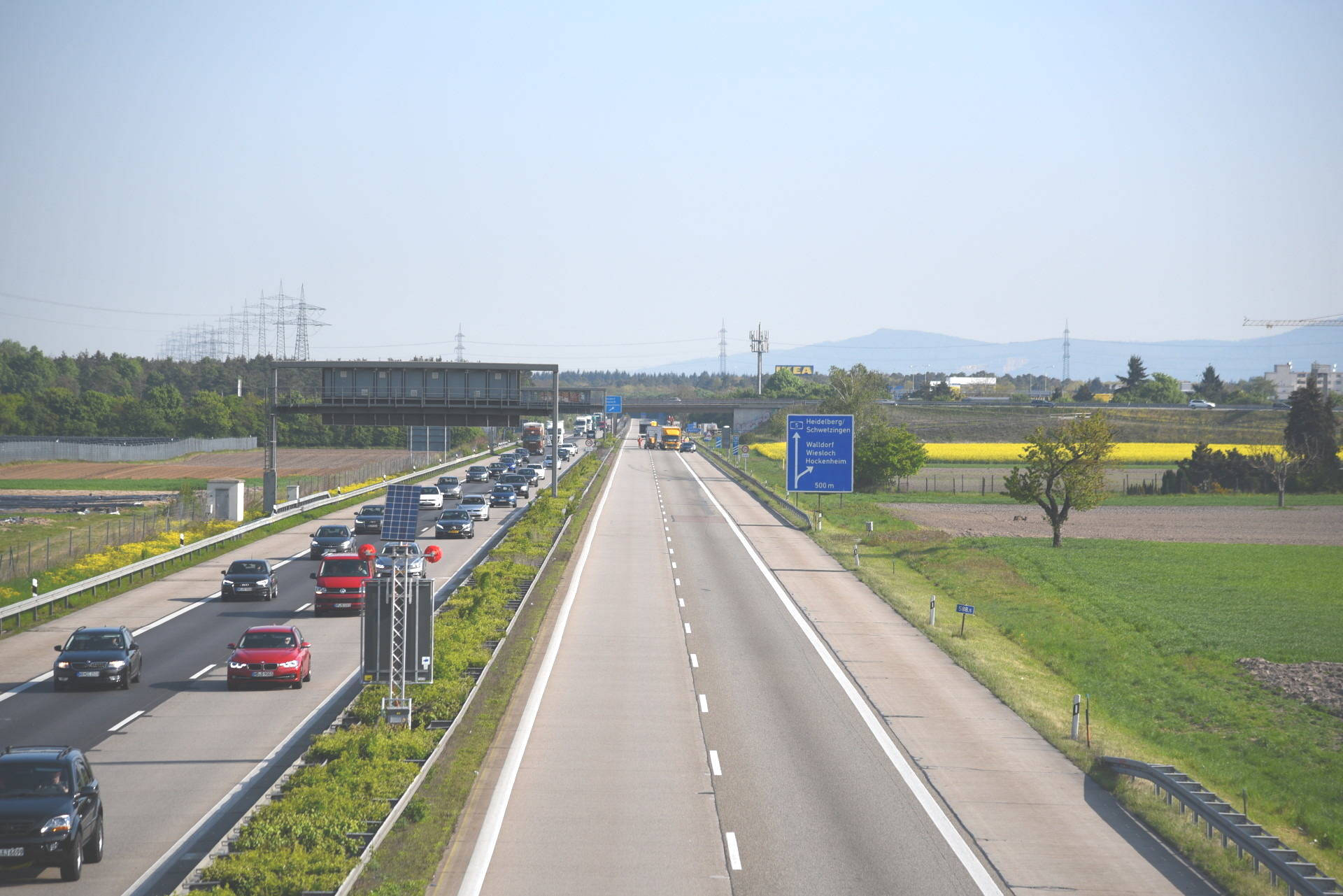 Autobahnkreuz Walldorf