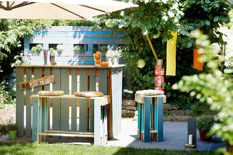 Möbel aus holzpaletten  Möbel aus Holzpaletten fertigen - Lebensart - Rhein Neckar Zeitung