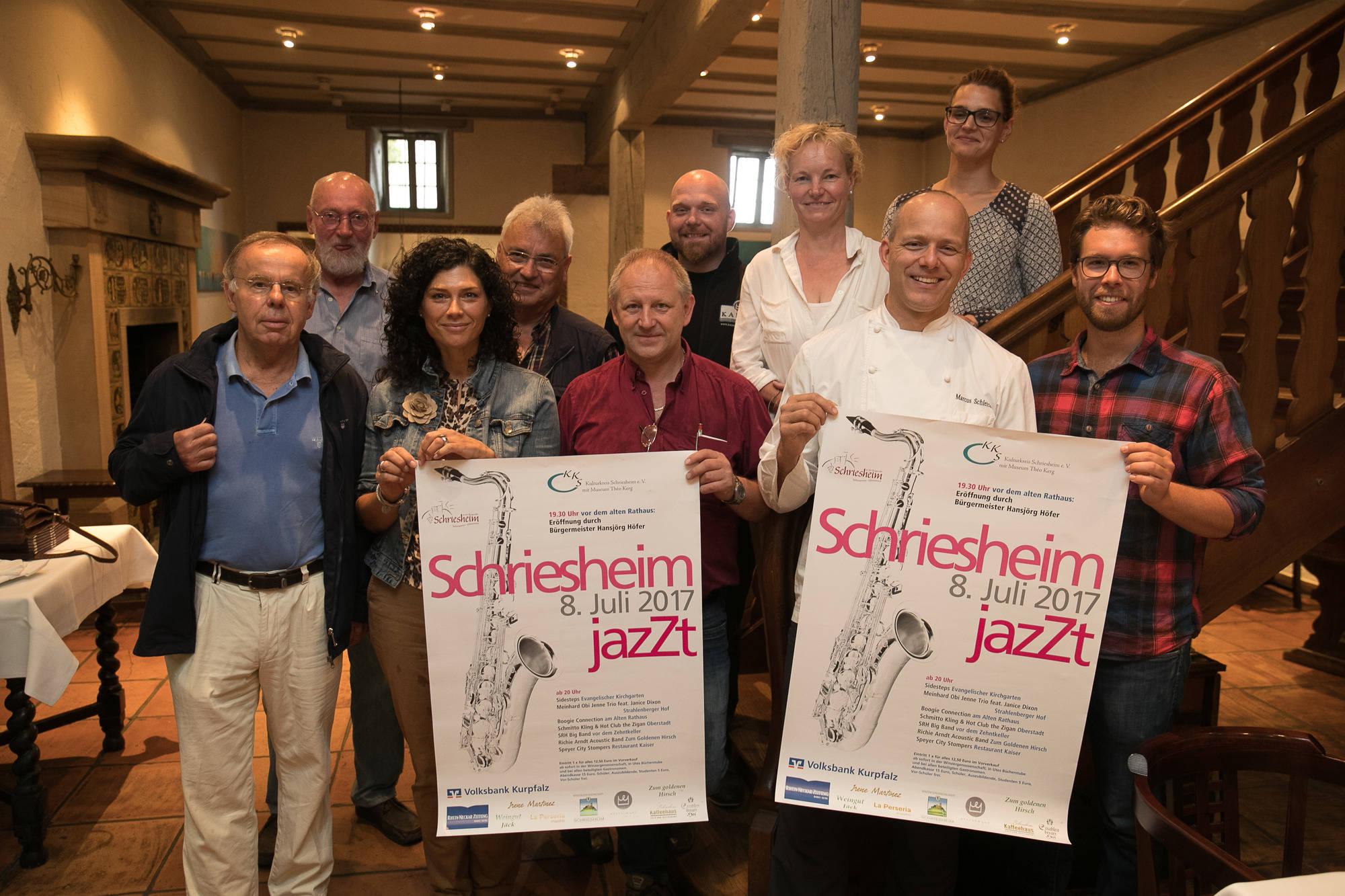 Schriesheim Jazzt Wenn Die Altstadt Wieder Richtig Swingt