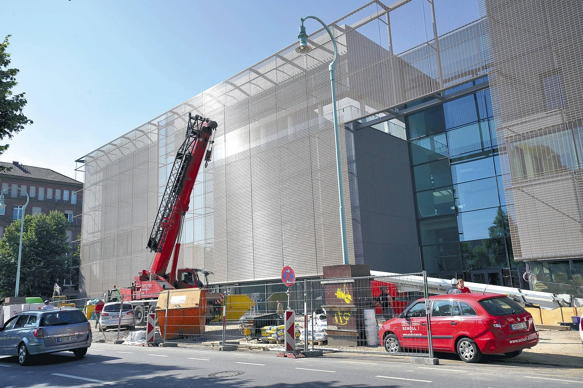 Die Neue Kunsthalle erhält einen Mantel - Nachrichten aus Mannheim ...