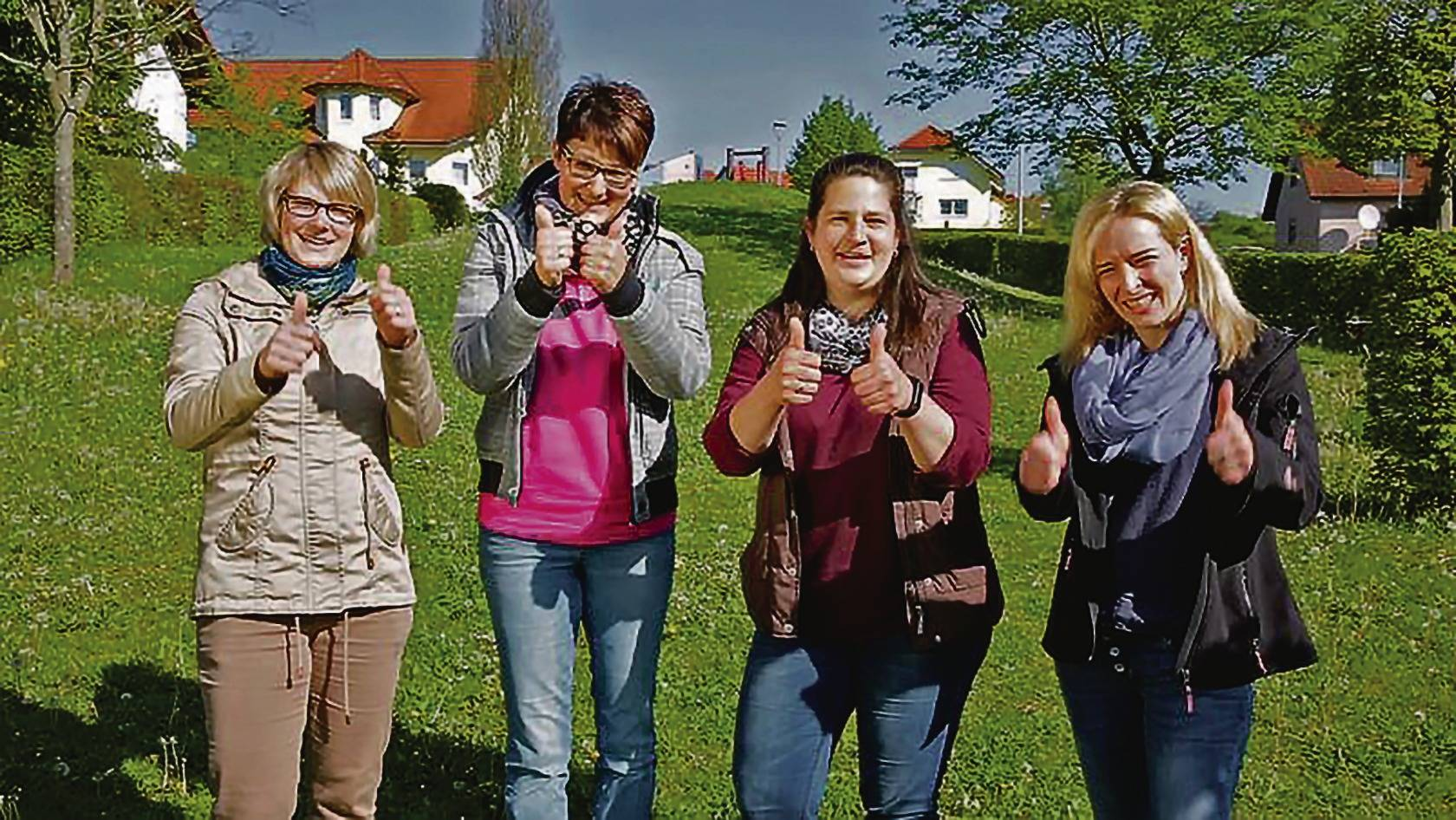 """hardheim: frauen wollen """"spielplatz schöner machen"""" - buchen - rhein"""