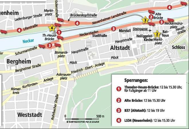 Royaler Besuch In Heidelberg William Und Kate Gucken Dann Ab Ans Neckarufer Nachrichten Aus Heidelberg Rnz